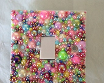 Light switch cover sparkle