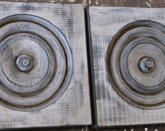 Square door moldings (2), great accents for decor