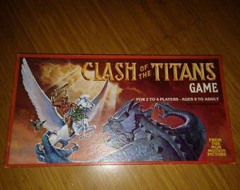 CLASH of the TITANS GAME Whitman 1981 Ray Harry hausen