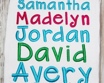 Lindsay Embroidery Font, BX Font