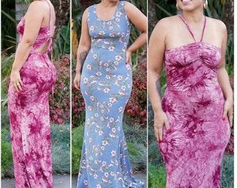 UNCUT /& FF Misses Dress in Two Lengths Pattern Misses Dress Pattern 10 Pieces Simplicity S8912 Sizes 16-24