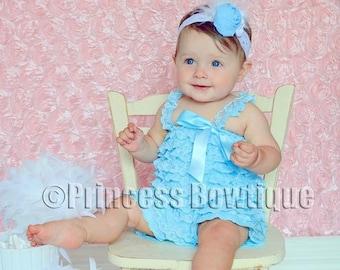 b491c9ce095 Light Pink Baby Lace Romper baby clothing Newborn Ruffle