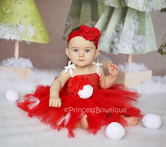 image 0 - Christmas Tutu Dress Babies First Christmas Christmas Baby Etsy