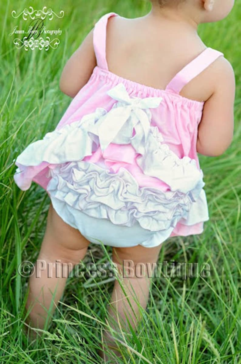 First birthday outfits Newborn Clothes Baby Romper Baby Girl Romper Pink White Baby Clothes Baby Boutique Clothing Trendy Baby Clothes