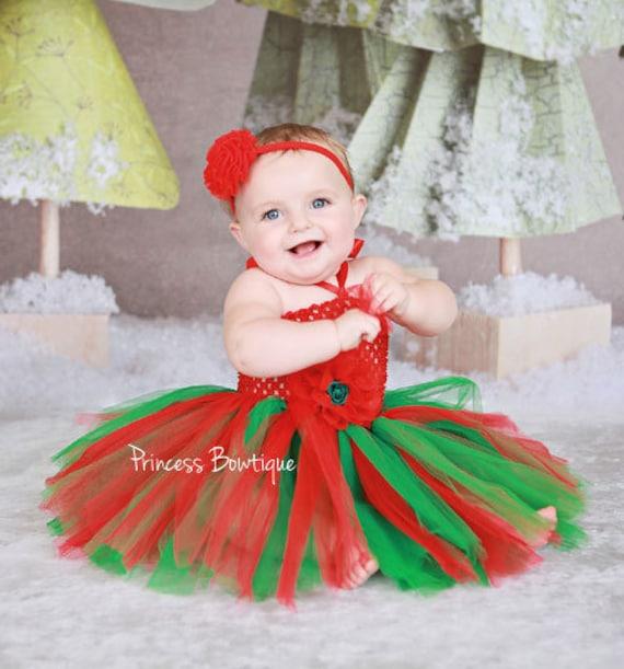 image 0 - Christmas Tutu Baby Tutu First Christmas Outfit Christmas Etsy