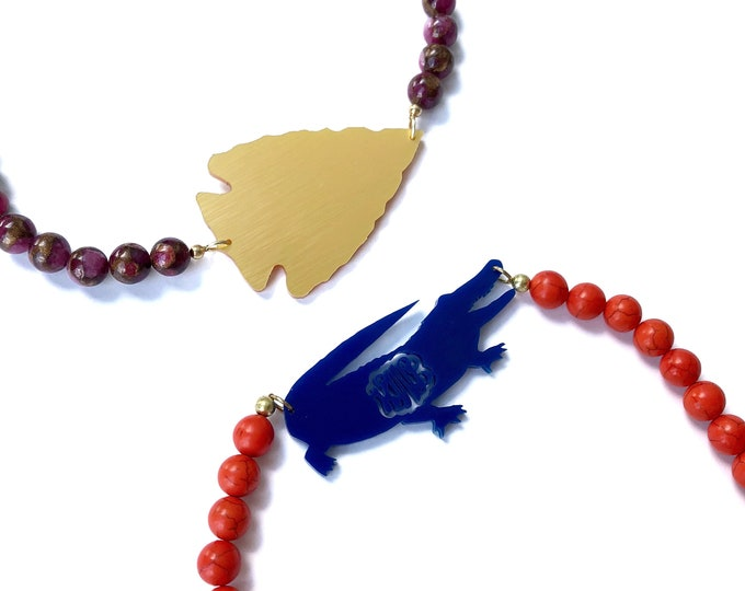 Gameday Beaded Necklace