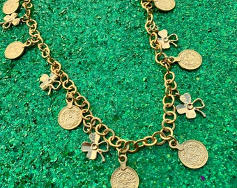 the Rowan - Lucky Charm Chain Necklace