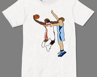 0c4756399 Original Baron Davis Dunk Dubs Dub Nation Shirt Hamptons Five