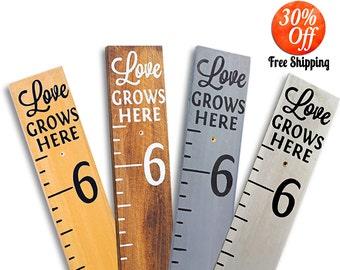 baby shower gift.kids birthday.birthday gift.growth chart.ruler.kids growt chart.kids measuring stick.height chart (Signature Height Chart)