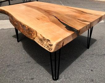 Coffee Table.reclaimed Wood Coffee Table.modern Coffee Table.rustic Coffee  Table.industrial Coffee Table.shabby Chic Coffee Table(Wood Slab)
