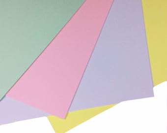 20 Sheets of Coloured A4 Paper for Craft Intensive Pink SALE