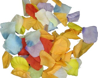 Artificial Fabric Realistic Fake Flower Petals Kids Seasonal Crafts & Collage