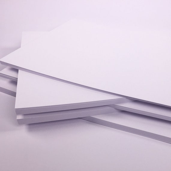 UK Paper Mill Stock 50 x A4 sheets Vanguard Premium Black Card 240gsm