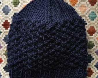Baby Hat and Mittens - Hand Knit