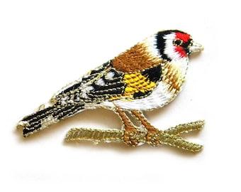 Bird Embroidered Patch Appliqué