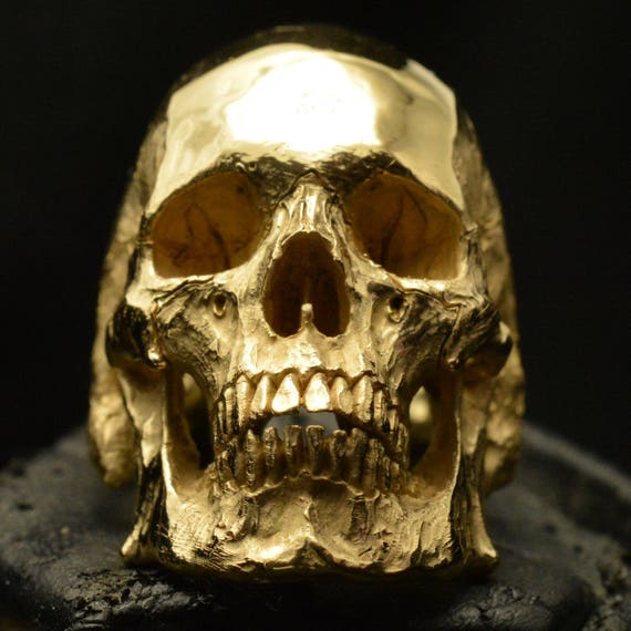 Into The Fire Skull Ring