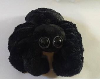 Black Spider Plush - Spiderbro - Cute Spider