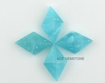 Smithsonite Wholesale Gemstone-Diamond Pyramid 10x16 mm Gemstone-Hand Cut Gemstone-Faceted Gemstone-4Pcs
