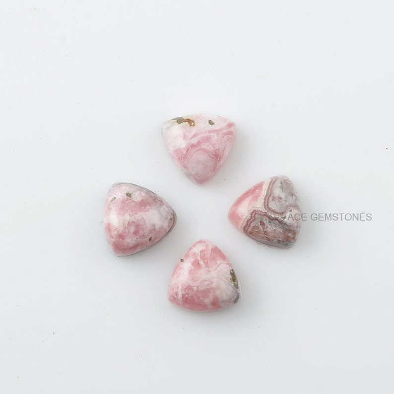 10 pic.wholesale lot Natural Rhodochrosite pear shape Cabochon loose gemstone for jewelry