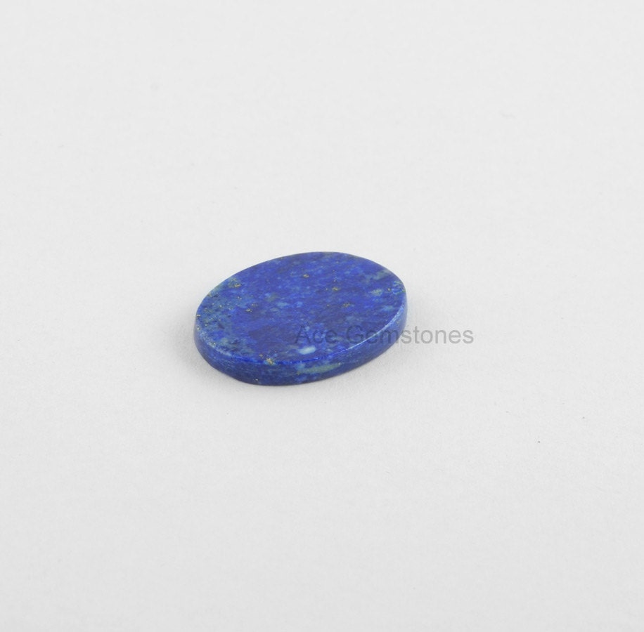 15 x 20 mm pierres pierres mm précieuses en vrac Lapis, à la fois côté plat et lisse Pierre, bleu Lapis, calibré Cabochons en pierres précieuses, de gros Pierre - 5 Pcs. c99960