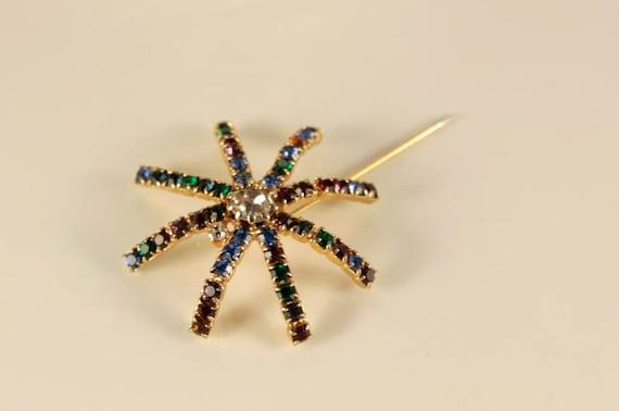 spray brooch salute brooch spider web brooch halloween pin