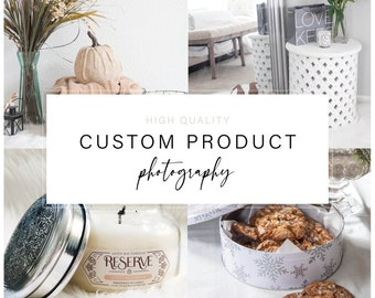 Custom Product Photography - For Etsy Shops, Websites, Boutiques, And More
