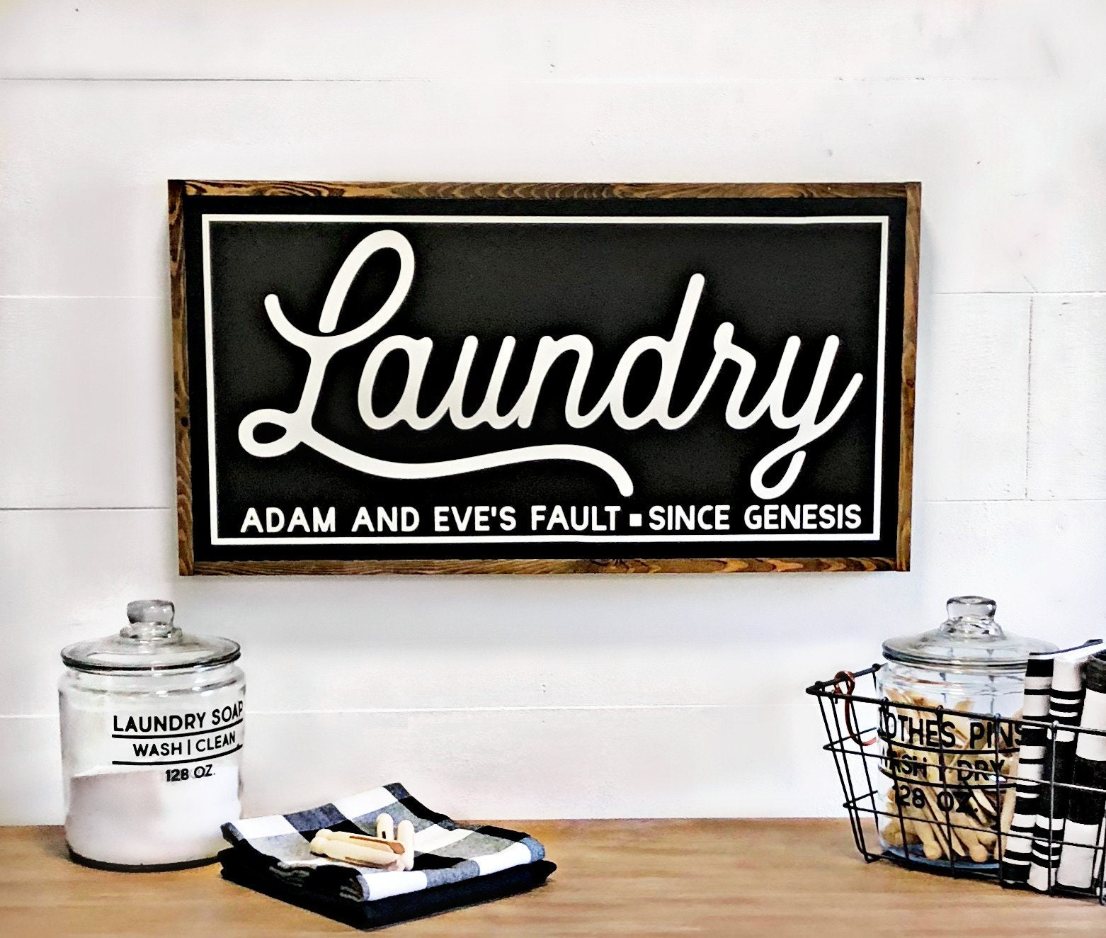 Laundry Room Decor Laundry Sign Farmhouse Laundry Sign Funny Laundry Room Decor Sign Farmhouse Sign Laundry Room Sign Farmhouse Decor