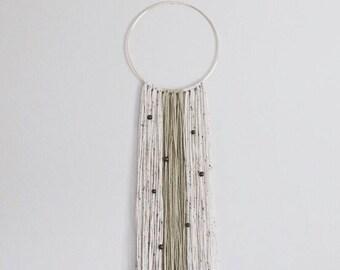 Yarn Wall Hanging - Gold Ring