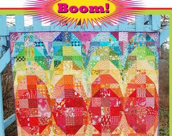Boom! - An Urban Folk Pattern from Blue Nickel Studios - PDF Download