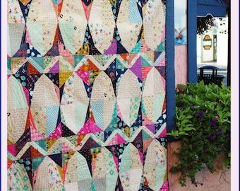 Garden Gate - An Urban Folk Pattern from Blue Nickel Studios - PDF Download