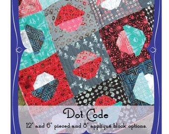 Dot Code - An Urban Folk Pattern from Blue Nickel Studios - PDF Download