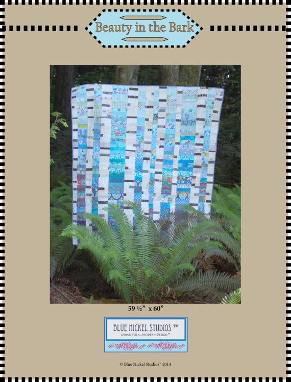 Beauty in the Bark - An Urban Folk Pattern from Blue Nickel Studios - PDF Download