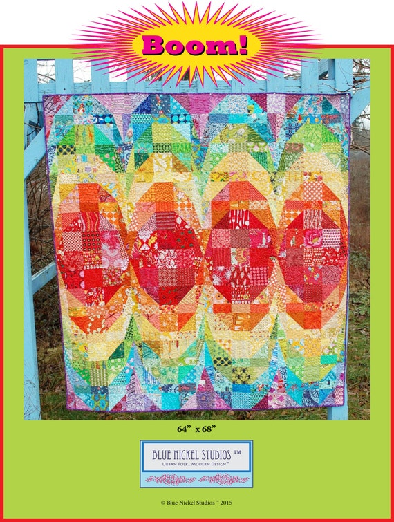 Boom! - An Urban Folk Pattern from Blue Nickel Studios - PDF Download