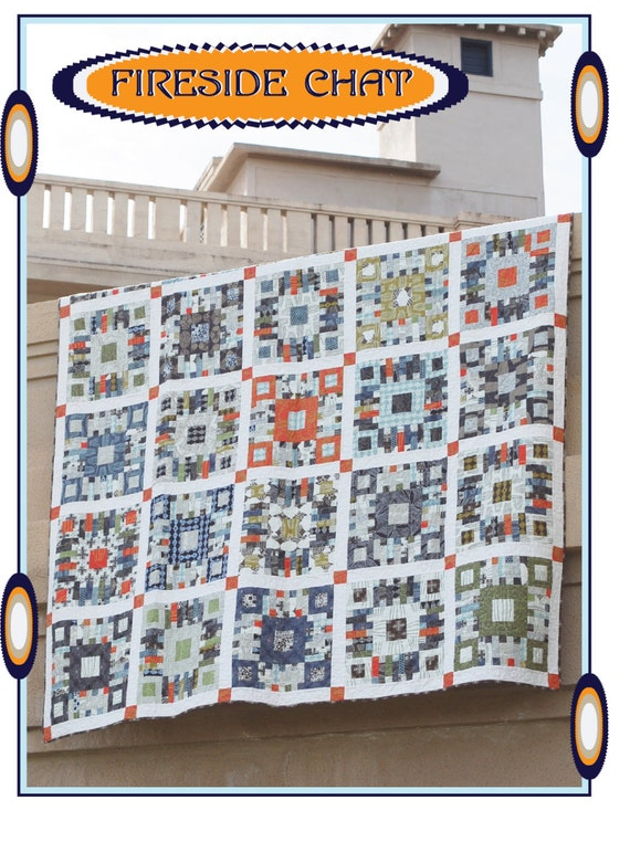 Fireside Chat - An Urban Folk Pattern from Blue Nickel Studios - PDF Download