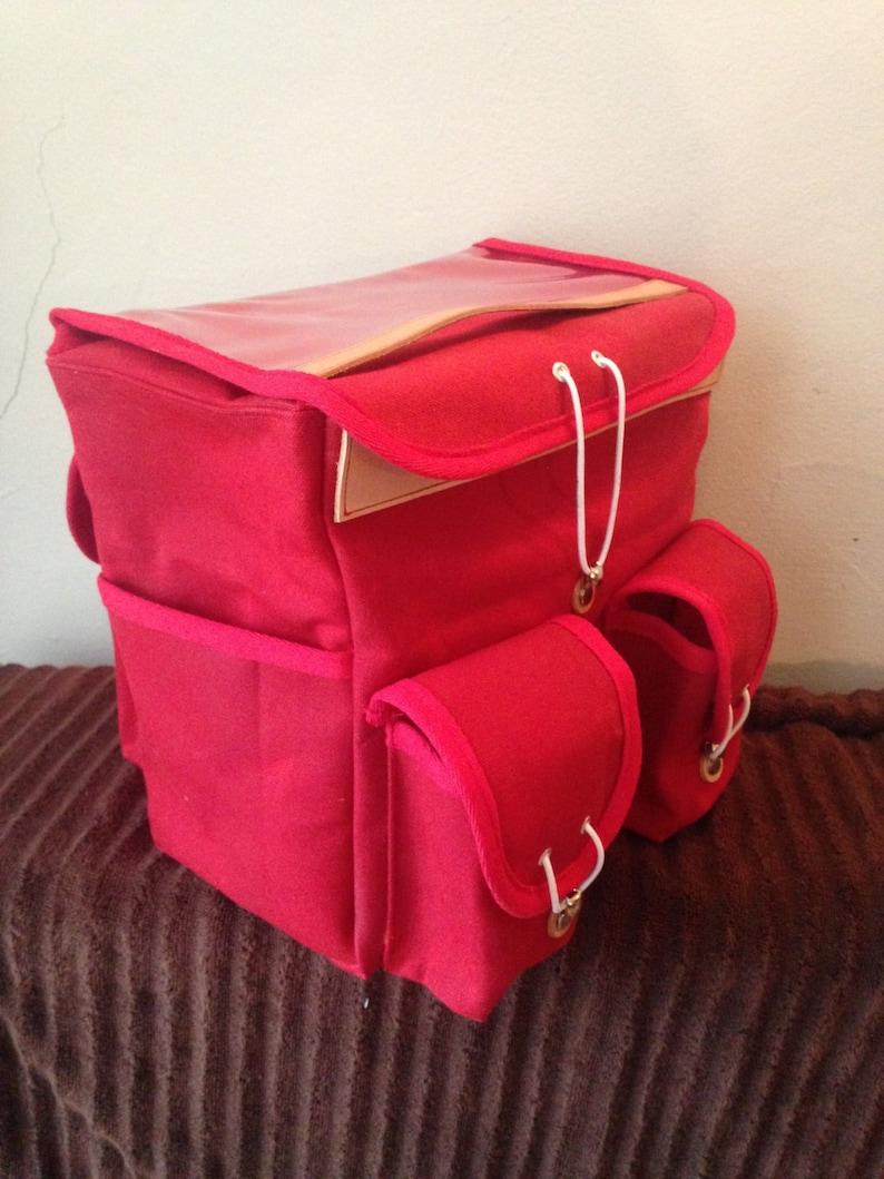 Randonneur Bag Canvas Handlebar Bag