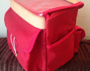 Randonneur Bag - Canvas Handlebar Bag