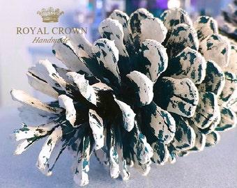 Pinecone Decor, Winter Wedding, Christmas Decorations, Pine Cone Ornaments, Large Pine Cones, Christmas Pine Cones
