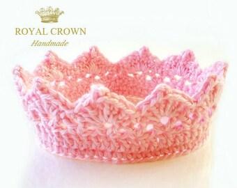 Princess Crown, Baby Headband, Newborn Girl Crown, Tiara Crown, Baby Crown Headband, Baby Crown,  Newborn Photo Prop, Baby Princess Crown