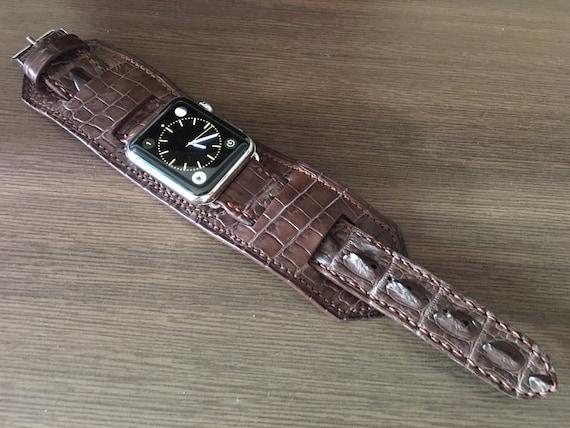 Apple Watch 44mm, iWatch, Apple Watch Band, Apple Watch Strap, Leather Watch Strap, Leather bund strap, Apple Watch 42mm, Series 3 4 5 6