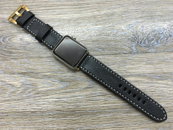 Apple Watch Bands 44mm 40mm, Black Apple Watch Bands, Personalise Gift Idea, iWatch Apple Watch Space Gray, Apple Watch Straps for Series 6