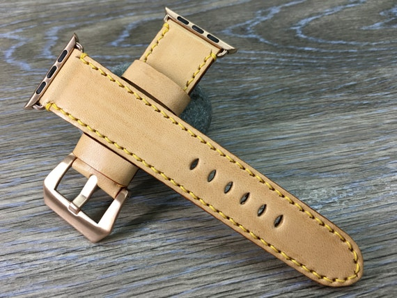 Apple Watch Band   Apple Watch Strap   Vintage Leather watch strap   Vintage watch band For Apple Watch 38mm & Apple Watch 42mm