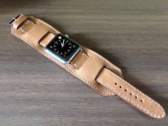 Apple Watch Band, Full Bund Strap, Apple Watch Strap, Leather Cuff Watch Band, Black Friday, Watch Band For Apple Watch 42mm - FREE SHIPPING