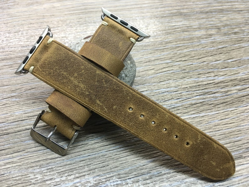 Apple Watch Band 40mm 42mm 44mm 38mm Leather APPLE watch Band image 0
