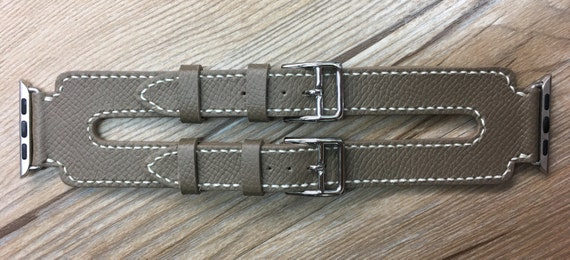 Apple Watch Band | Apple Watch Strap | Double Buckle Cuff Watch Band | Ètoupe Swift Double Buckle Cuff For Apple Watch 38mm & 42mm