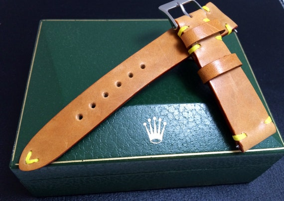 Leather watch Strap, 20mm watch strap, 19mm watch band, 20mm strap, 20mm watch band, leather watch band, Vintage Leather, FREE SHIPPING