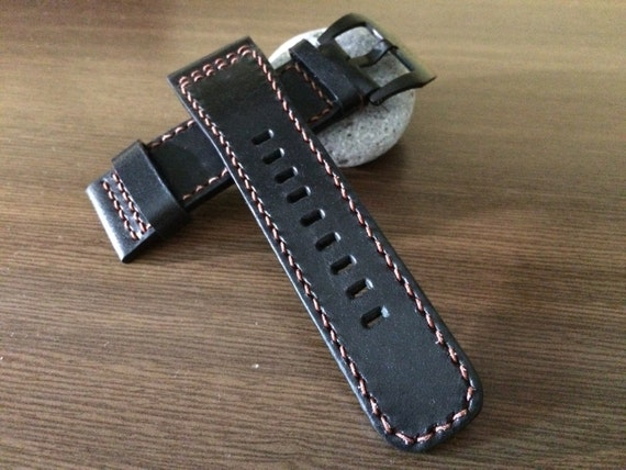 Real Leather watch strap for SevenFriday watch - 28mm/24mm