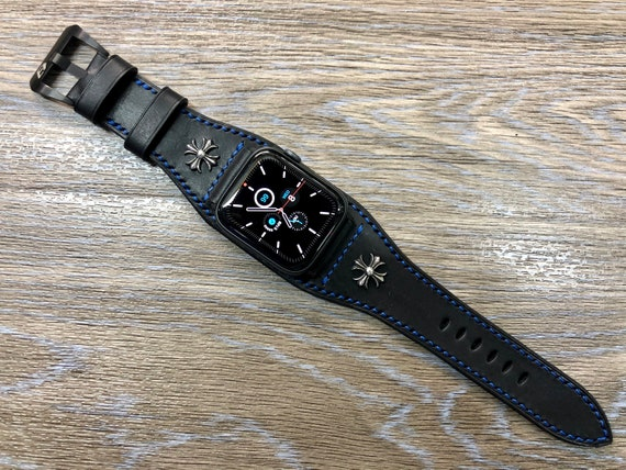 Apple Watch Space Gray, Apple Watch band 44mm, Apple Watch Bund Strap, Stainless Steel, Apple Watch 42mm, iwatch, Valentines Day Gift idea