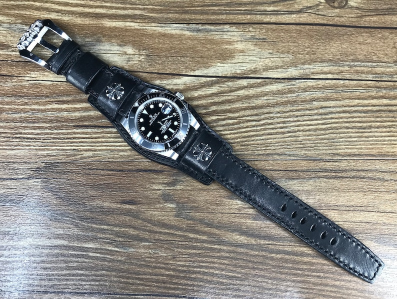 Leather watch band Leather bund straps Leather Watch Straps image 0