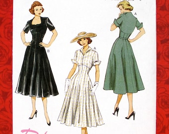 ba7e26759c36 Butterick Sewing Pattern B6018 Dress