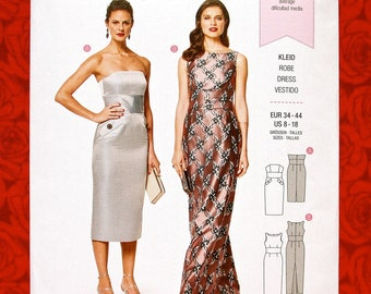 3505c486119 Burda Sewing Pattern 6441 Formal Evening Dress   Gown